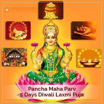 5 Days Diwali Lakshmi Puja