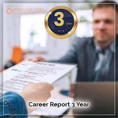 Career Horoscope Report 3 Year
