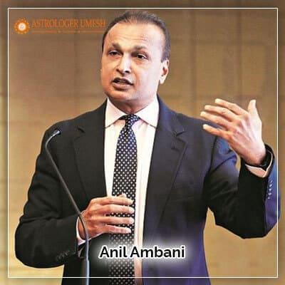 Anil Ambani Horoscope Analysis