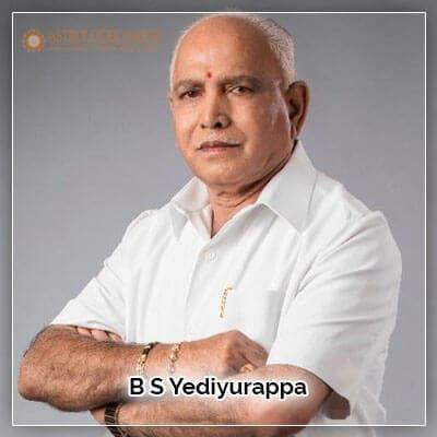 B S Yediyurappa Horoscope Analysis