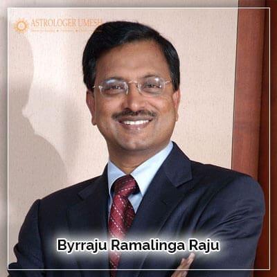 Byrraju Ramalinga Raju Horoscope Analysis