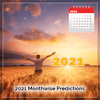 2021 Monthwise Prediction