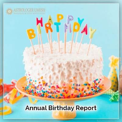 Annual Birthday Report