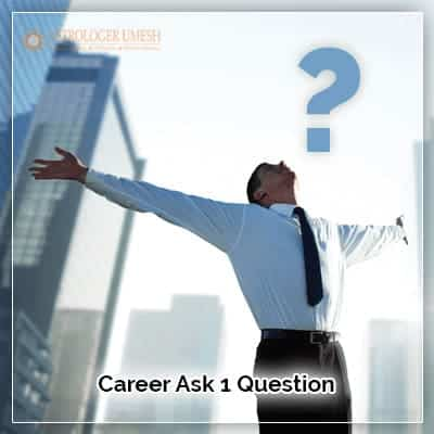 Career Ask One Question