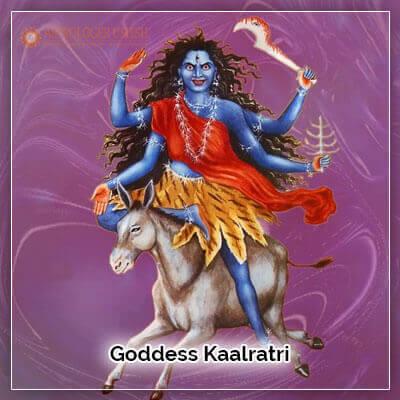 Goddess Kaalratri
