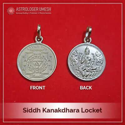 Siddh Kanakdhara Locket