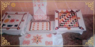 Preparation of Puja Chowki AstrologerUmesh